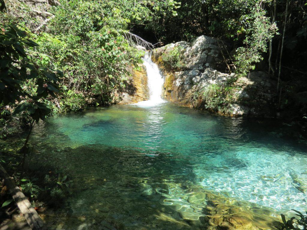 Cachoeira Bárbarinha - Cavalcante GO - Chapada dos Veadeiros