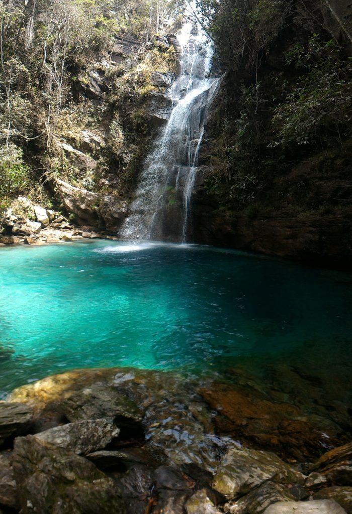 Cachoeira Santa Bárbara - Cavalcante GO - Chapada dos Veadeiros