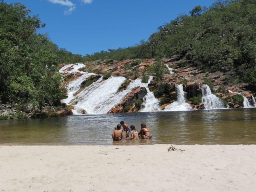 Cachoeira São Felix - Cavalcante GO - Chapada dos Veadeiros