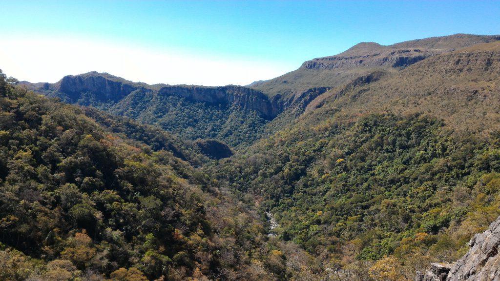 Mirante Vale do Rio da Prata - Cavalcante GO - Chapada dos Veadeiros