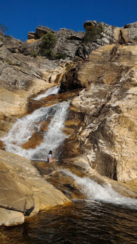 Cachoeira Barroco VI - Cavalcante  GO - Chapada dos Veadeiros