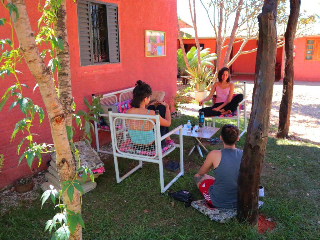 Areas de uso comum - Hostel & Camping Cavalcante