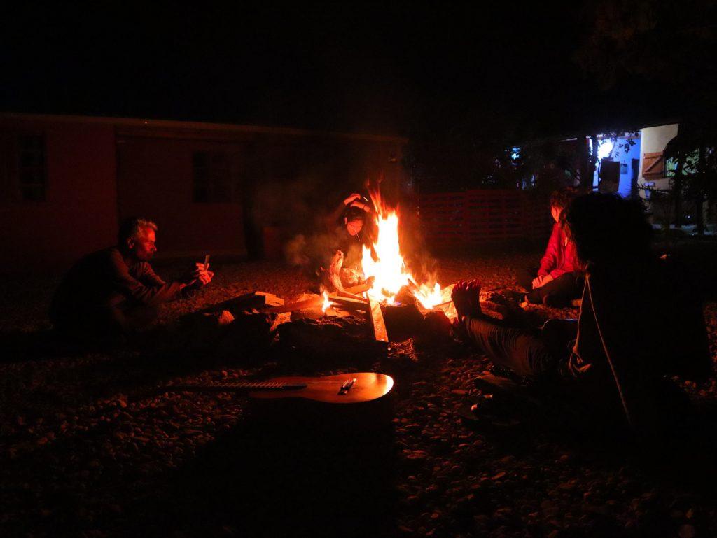 Área para Fogueira - Hostel & Camping Cavalcante