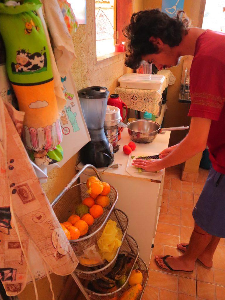 Cozinha - Hostel & Camping Cavalcante